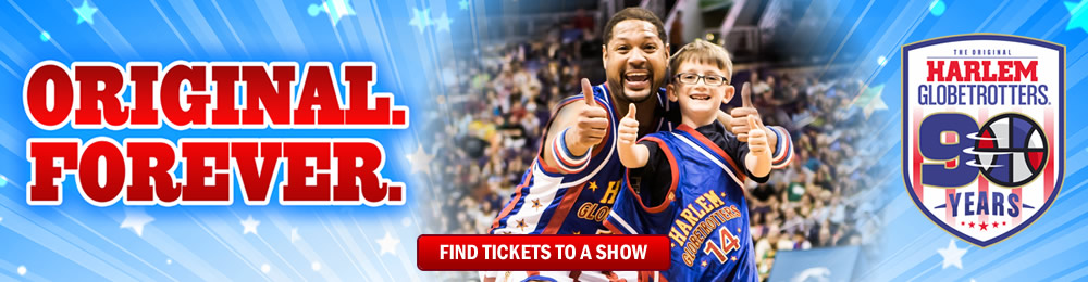 WWW.HARLEMGLOBETROTTERS.COM/TICKETS