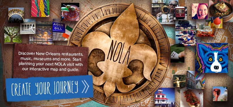 New Orleans Official Tourism Web Site New Orleans Online – New Orleans Tourist Map